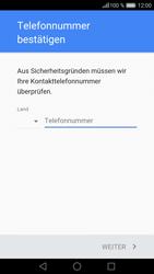 Huawei P9 - Apps - Konto anlegen und einrichten - 2 / 2