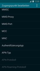 Samsung Galaxy S5 - MMS - Manuelle Konfiguration - 12 / 19