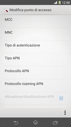 Sony Xperia Z1 - Internet e roaming dati - Configurazione manuale - Fase 13