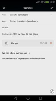 Huawei Mate S - E-mail - E-mail versturen - Stap 16