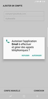 Samsung Galaxy S8+ - E-mails - Ajouter ou modifier votre compte Outlook - Étape 11