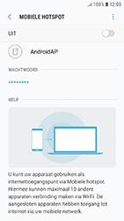 Samsung Galaxy J5 (2017) (SM-J530F) - WiFi - Mobiele hotspot instellen - Stap 12