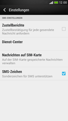 HTC Desire 601 - SMS - Manuelle Konfiguration - 1 / 1