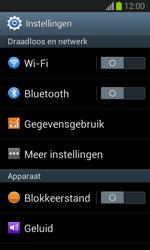 Samsung S7390 Galaxy Trend Lite - Internet - Mobiele data uitschakelen - Stap 4