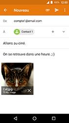 Crosscall Action X3 - E-mails - Envoyer un e-mail - Étape 16