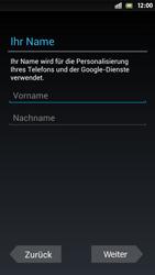 Sony Xperia S - Apps - Einrichten des App Stores - Schritt 12