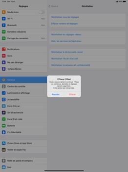 Apple iPad Pro 12.9 (2nd gen) - iPadOS 13 - Téléphone mobile - Réinitialisation de la configuration d