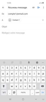 Samsung Galaxy A21s - E-mails - Envoyer un e-mail - Étape 8