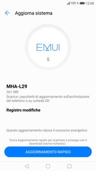 Huawei Mate 9 - Software - Installazione degli aggiornamenti software - Fase 6