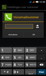 Alcatel OT-4033X Pop C3 - Voicemail - Handmatig instellen - Stap 11