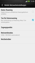 HTC One - Netzwerk - Manuelle Netzwerkwahl - Schritt 5