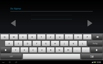 Sony Xperia Tablet Z LTE - Apps - Konto anlegen und einrichten - Schritt 7