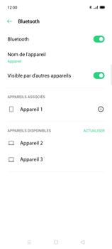 Oppo Find X2 Lite - Internet et connexion - Connexion avec un équipement multimédia via Bluetooth - Étape 9