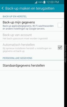 Samsung Galaxy Note Edge - toestel resetten - fabrieksinstellingen terugzetten - stap 5