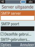 Samsung B2100 Xplorer - E-mail - Handmatig instellen - Stap 22