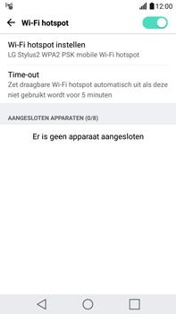 LG K520 Stylus 2 DAB+ - WiFi - Mobiele hotspot instellen - Stap 10