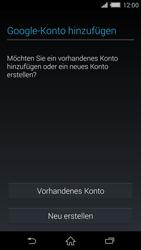 Sony Xperia Z2 - Apps - Konto anlegen und einrichten - Schritt 4