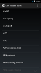 Wiko jimmy - MMS - Manual configuration - Step 11