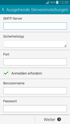 Samsung Galaxy Alpha - E-Mail - Konto einrichten - 2 / 2