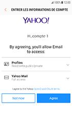 Samsung Galaxy Xcover 4 - E-mail - Configuration manuelle (yahoo) - Étape 9