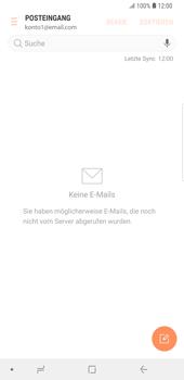 Samsung Galaxy S9 Plus - E-Mail - Konto einrichten - Schritt 5