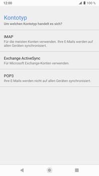 Sony Xperia XZ2 Premium - Android Pie - E-Mail - Konto einrichten - Schritt 10