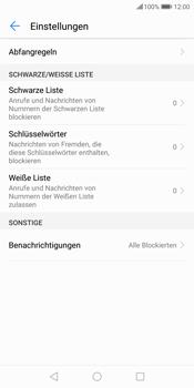 Huawei P Smart - Anrufe - Anrufe blockieren - 6 / 12
