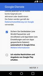 LG H850 G5 - Apps - Konto anlegen und einrichten - Schritt 16
