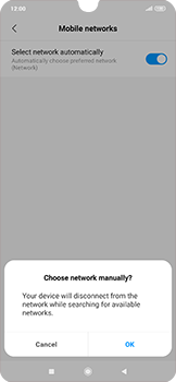 Xiaomi RedMi Note 7 - Network - Manual network selection - Step 8