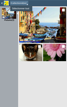 Samsung Galaxy Tab 3 8 4G - Photos, vidéos, musique - Envoyer une photo via Bluetooth - Étape 8
