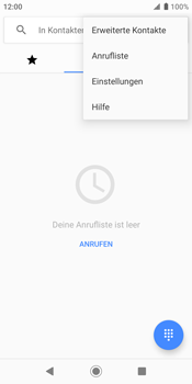 Sony Xperia XZ2 - Android Pie - Anrufe - Rufumleitungen setzen und löschen - Schritt 5