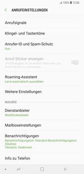 Samsung Galaxy Note9 - Anrufe - Rufumleitungen setzen und löschen - 7 / 14