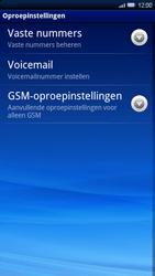 Sony Xperia X10 - Voicemail - Handmatig instellen - Stap 5