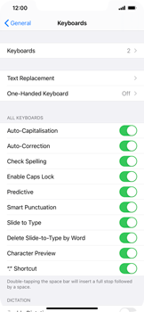 Apple iPhone 11 - iOS 14 - Getting started - How to add a keyboard language - Step 5