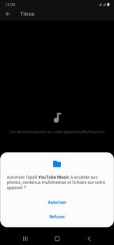 Samsung Galaxy Note20 Ultra 5G - Photos, vidéos, musique - Ecouter de la musique - Étape 7