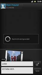 Sony Xperia S - MMS - Erstellen und senden - Schritt 18