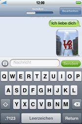 Apple iPhone 3GS - MMS - Erstellen und senden - 15 / 16