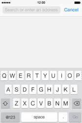 Apple iPhone 4 S iOS 7 - Internet - Internet browsing - Step 3