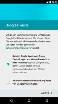 Motorola Google Nexus 6 - Apps - Konto anlegen und einrichten - 15 / 19