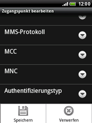 HTC Wildfire - Internet - Apn-Einstellungen - 12 / 12