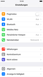 Apple iPhone 6 iOS 10 - WLAN - Manuelle Konfiguration - Schritt 3