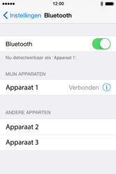 Apple iPhone 4S (iOS 8) - bluetooth - headset, carkit verbinding - stap 6