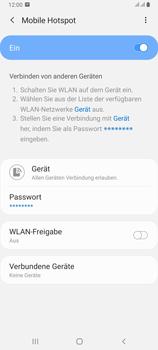 Samsung Galaxy A80 - WiFi - So aktivieren Sie einen WLAN-Hotspot - Schritt 12