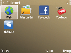 Nokia E72 - Internet - Internetten - Stap 3