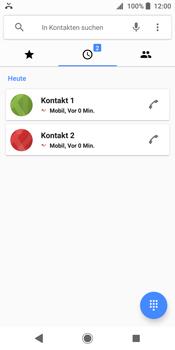 Sony Xperia XZ2 - Anrufe - Anrufe blockieren - Schritt 4