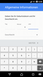 Sony Xperia XA1 - Apps - Konto anlegen und einrichten - Schritt 8