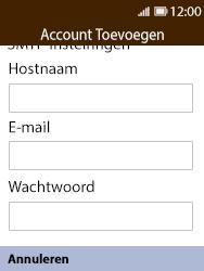 Nokia 8110 - E-mail - handmatig instellen - Stap 11