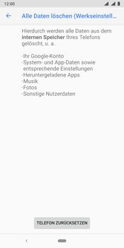 Nokia 9 - Fehlerbehebung - Handy zurücksetzen - Schritt 10