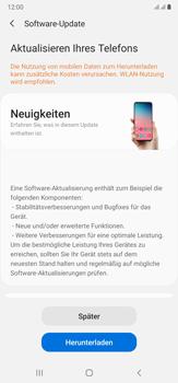 Samsung Galaxy Note 20 Ultra 5G - Software - Installieren von Software-Updates - Schritt 7