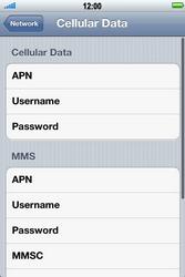 Apple iPhone 4 S - Internet - Manual configuration - Step 6